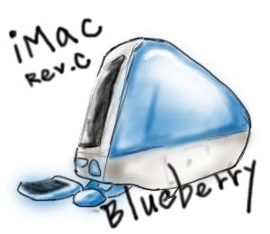 iMac Rev.C Blueberry